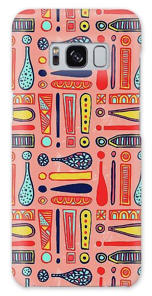Exclamations Pattern Galaxy Case