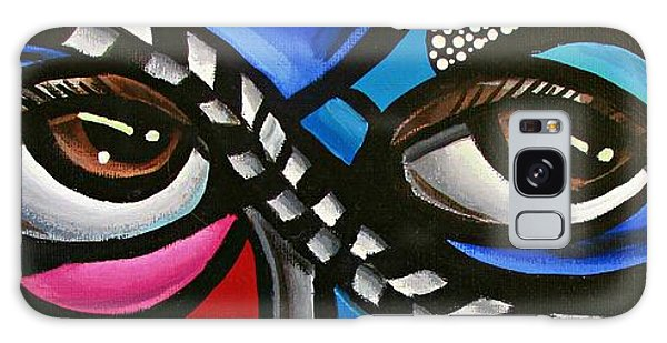 Eye Art Painting Abstract Chromatic Painting Electric Energy Artwork Galaxy Case