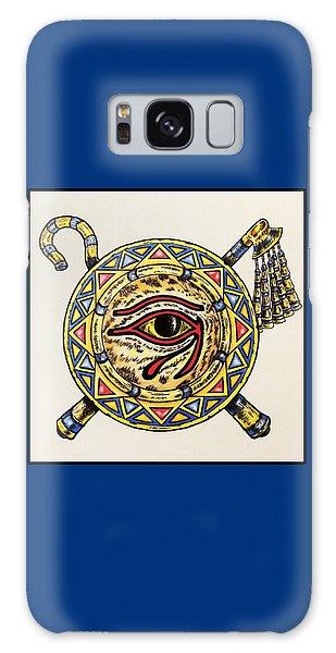 Houlton Galaxy Case - Eye Of Horus  by Richard John Houlton