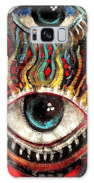Eyes On You Galaxy Case