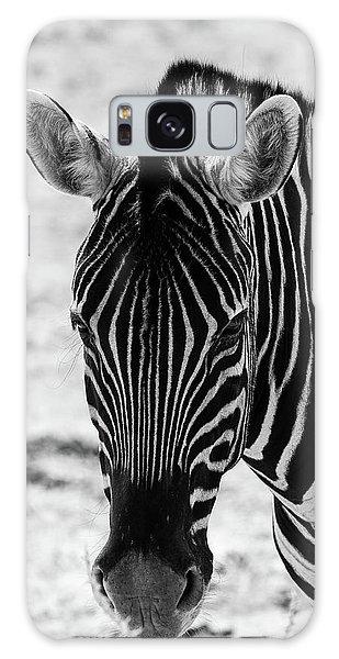 Face Of Zebra Galaxy Case