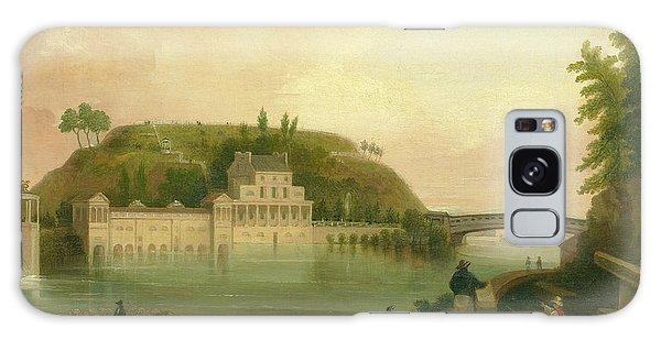 Fairmount Waterworks About 1838 Galaxy Case