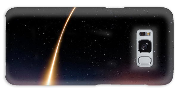 Falcon 9 Rocket Launch Outer Space Image Galaxy Case