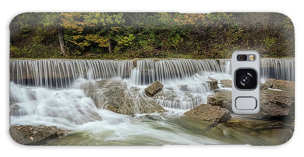 Galaxy Case featuring the photograph Fall At Pillsbury Crossing by Scott Bean