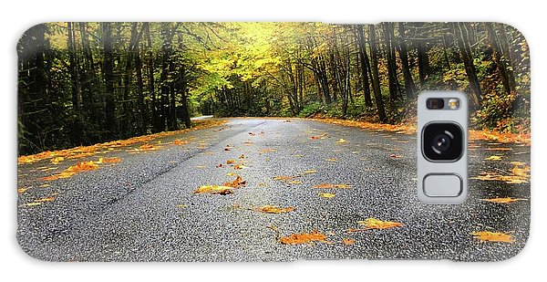 Fall Drive Galaxy Case