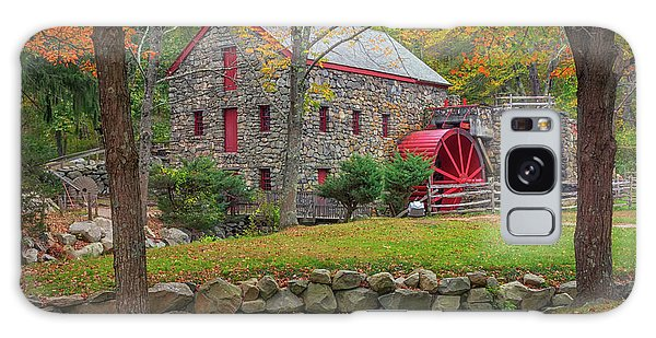 Fall Foliage At The Grist Mill Galaxy Case