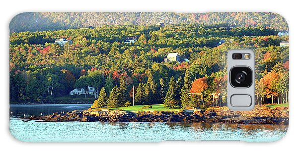 Galaxy Case featuring the photograph Fall Foliage In Bar Harbor by Bill Swartwout Fine Art Photography