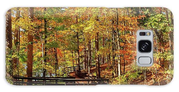 Fall Hike At Mirror Lake Galaxy Case