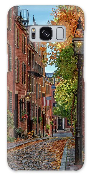Fall In Beacon Hill Galaxy Case