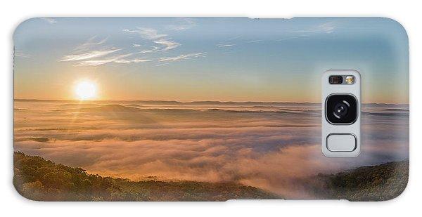 Fall Sunrise Galaxy Case