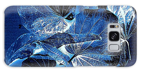 Fallen Leaves At Midnight Galaxy Case