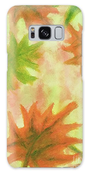 Fanciful Fall Leaves Galaxy Case