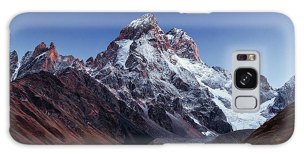 Dawn Galaxy Case - Fantastic Scenery And Snowy Peaks In by Standret