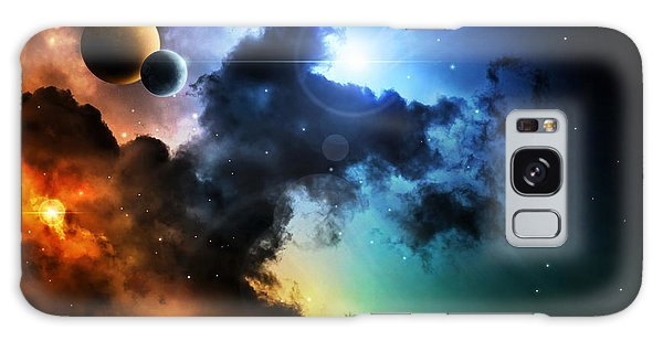 Spaceship Galaxy Case - Fantasy Deep Space Nebula With Planet by Homeart