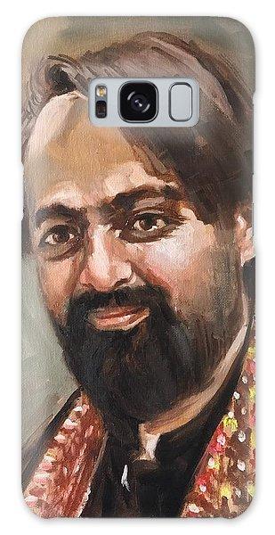 Galaxy Case featuring the painting Farhan Shah by Nizar MacNojia