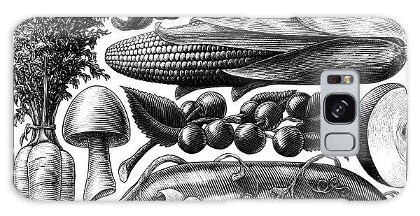 Farmer's Market - Bw Galaxy Case