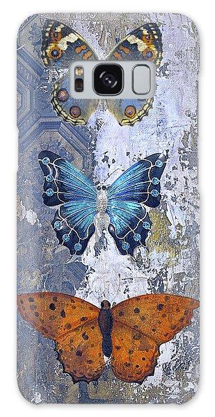 Patina Galaxy Case - Farmhouse Butterflies by Tim Palmer