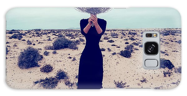 Dress Galaxy Case - Fashion Photo. Girl In The Desert With by Evgeniya Porechenskaya