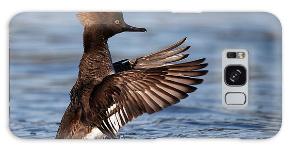 Female Merganser Wings Forward Galaxy Case