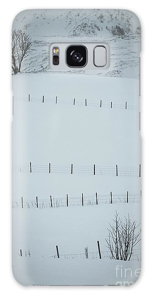 Expanse Galaxy Case - Fences And Trees by Inge Johnsson