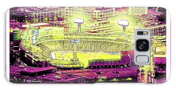 Galaxy Case - Fenway Park Boston Massachusetts Digital Art by A Gurmankin
