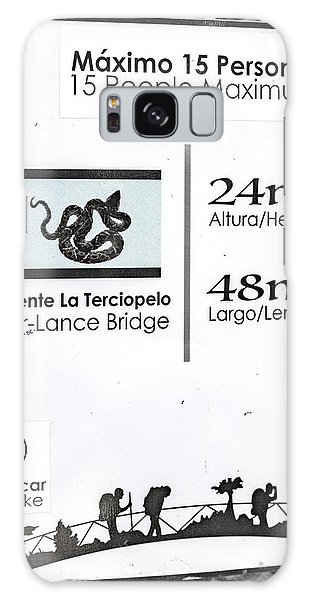 Language Galaxy Case - Fer Lance Bridge Sign by Betsy Knapp