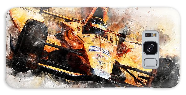 Fernando Alonso, Indy 500 - 04 Galaxy Case