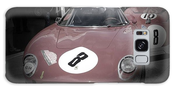 Monterey Galaxy Case - Ferrari Before The Race by Naxart Studio