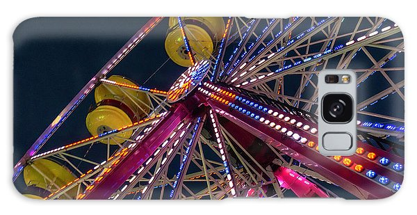 Ferris Wheel At Night Galaxy Case