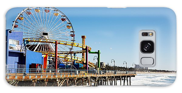 Los Angeles Galaxy Case - Ferris Wheel On Santa Monica Pier, Los by Jo Ann Snover