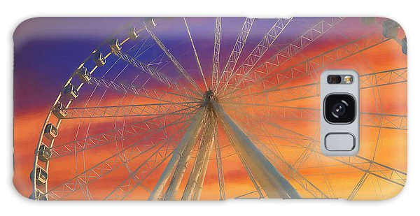 The Sky Galaxy Case - Ferris Wheel Sunset Sky by Dan Sproul