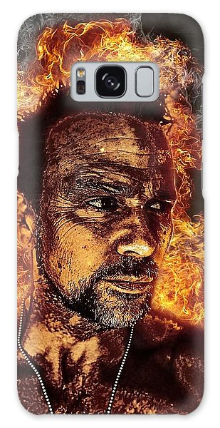 Fiery Flanery Galaxy Case