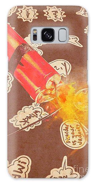 Fireworks Galaxy Case - Fiery Fuse by Jorgo Photography - Wall Art Gallery