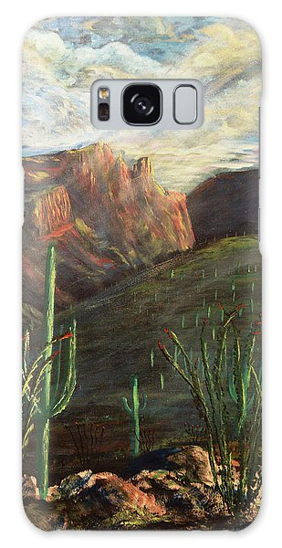 Finger Rock Morning Galaxy Case