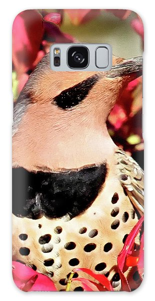 Fire Bush Flicker Galaxy Case
