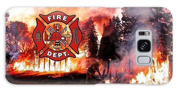Fire Fighting 3 Galaxy Case