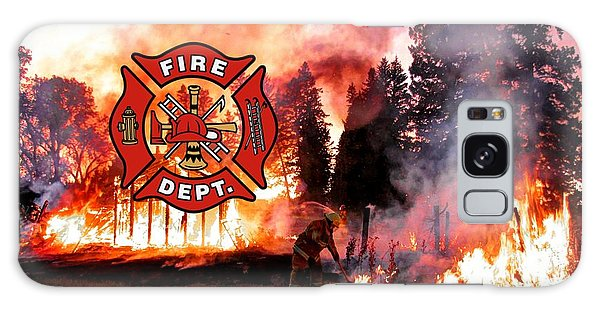 Fire Fighting 3 Galaxy Case