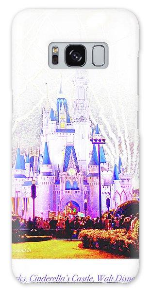 Fireworks, Cinderella's Castle, Magic Kingdom, Walt Disney World Galaxy Case