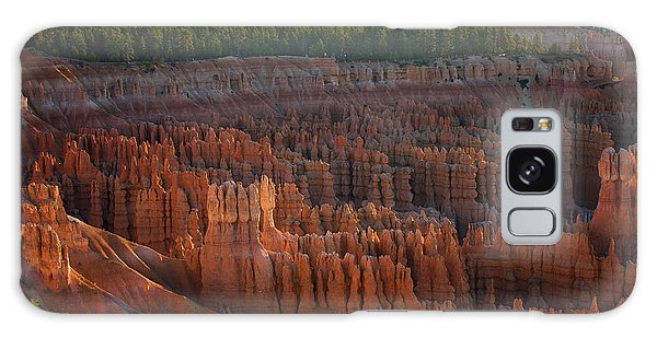 First Light On The Hoodoo Inspiration Point Bryce Canyon National Park Galaxy Case
