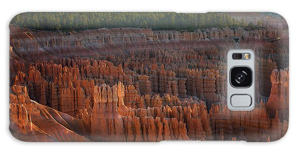 Galaxy Case featuring the photograph First Light On The Hoodoo Inspiration Point Bryce Canyon National Park by Nathan Bush