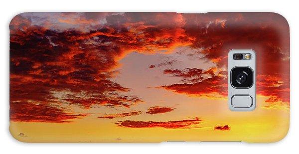 First November Sunset Galaxy Case