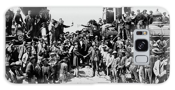 First Opening Of The Transcontinental Railroad - 1869 Galaxy Case