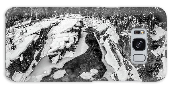 Galaxy Case featuring the photograph Fisheye View, Rocky Gorge Nh by Michael Hubley