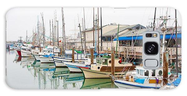 Marina Galaxy Case - Fishing Boats At Fishermans Wharf In by Radoslaw Lecyk