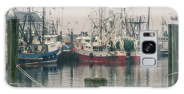 Galaxy Case featuring the photograph Fishing Boats by Steve Stanger