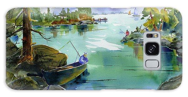 Fishing Lake Tahoe Galaxy Case