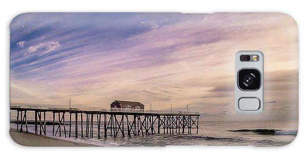 Fishing Pier Sunrise Galaxy Case
