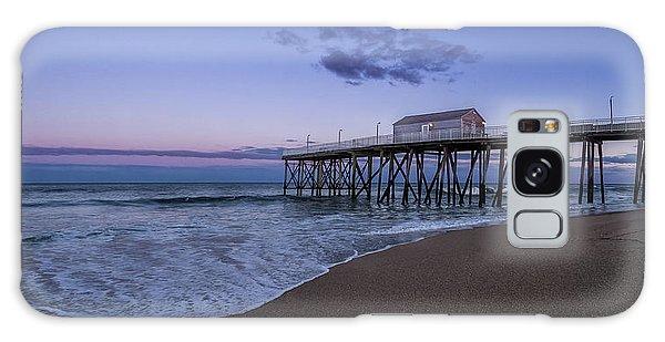 Fishing Pier Sunset Galaxy Case