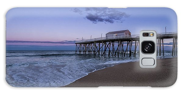 Galaxy Case featuring the photograph Fishing Pier Sunset by Steve Stanger