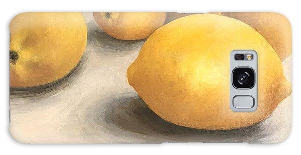 Five Lemons  Galaxy Case